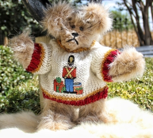 Little Drummer Boy Sweater Bear