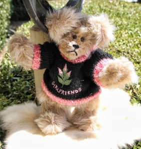 Girlfriends Sweater Bear