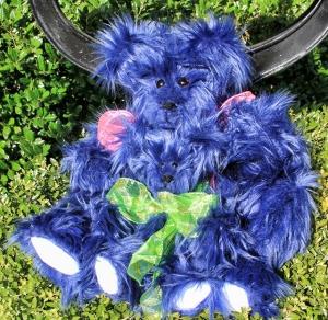Big Blue Bear and Baby Blue Bear
