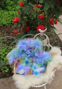 blue rainbow bear (447x640)