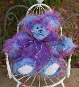 Purple Bubblegum Bear