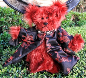 Red bear available without dragon cloak