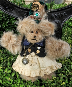 Punky Brewster Steampunk Bear--Sold!
