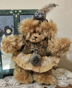 Steampunk Golden Bear-Sold