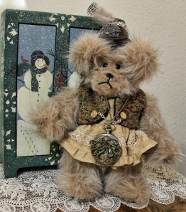 Steampunk Light Brown Bear- Sold