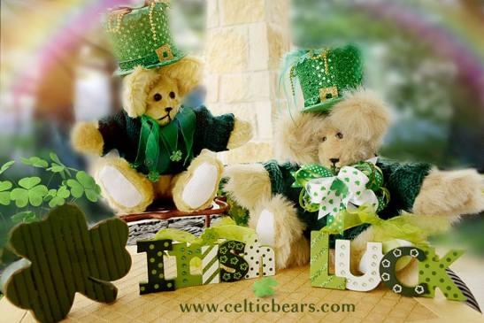 st patrick bear